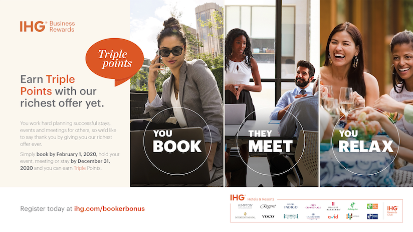 IHG Business Rewards Triple Points